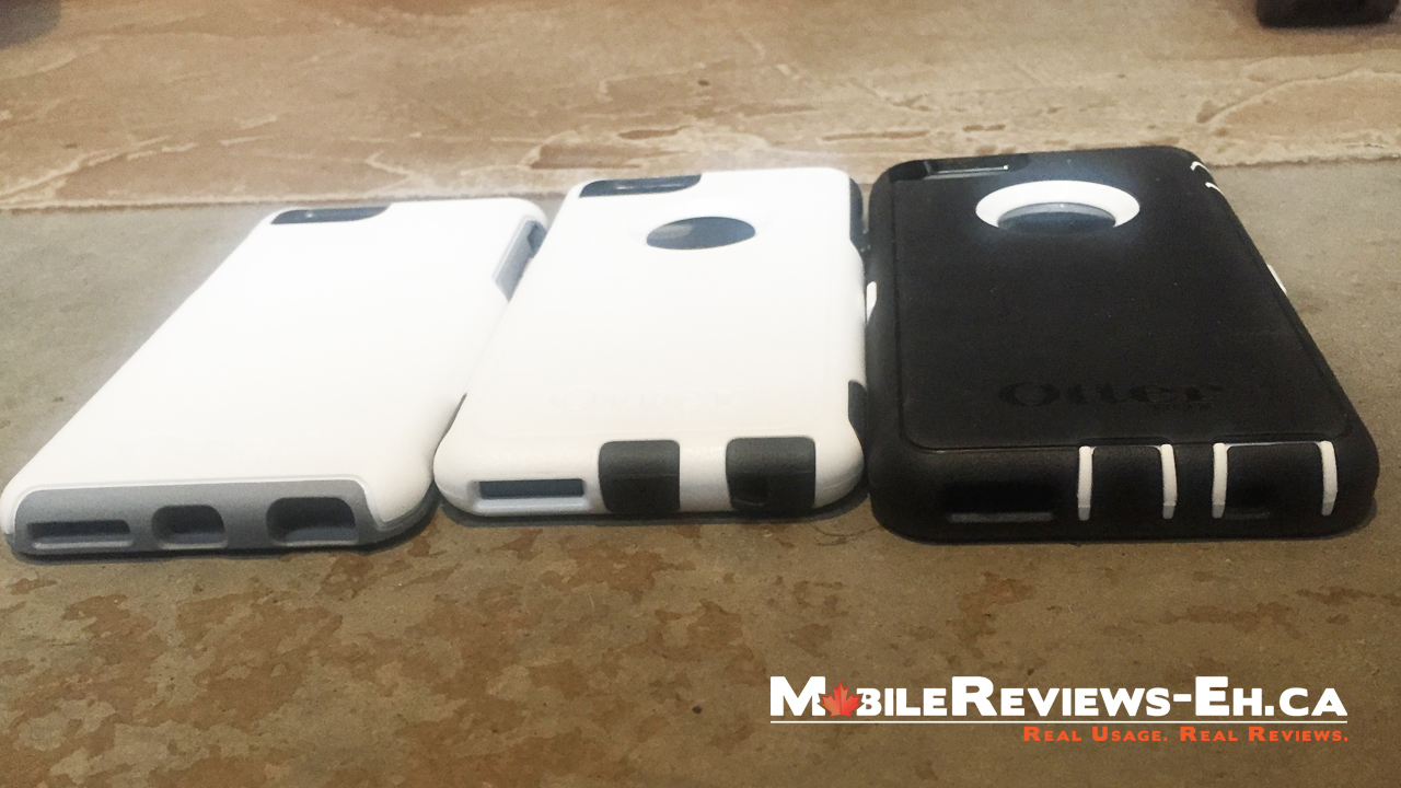 Otterbox Defender vs Commuter vs Symmetry - iPhone 6
