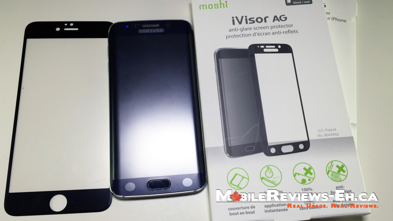 new arrival 7e243 3f305 Moshi iVisor AG Review - iPhone 6 & Galaxy S6 - Mobile Reviews Eh