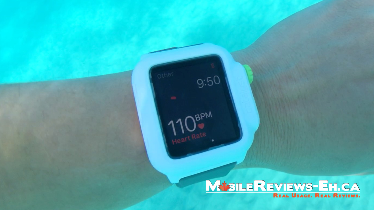 quality design 3423f 4983b Catalyst Waterproof Case Apple Watch Review