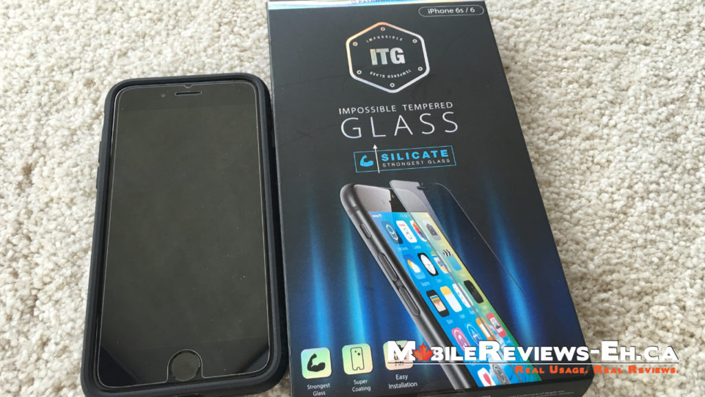 Glass Screen Protector ITG Silicate Review