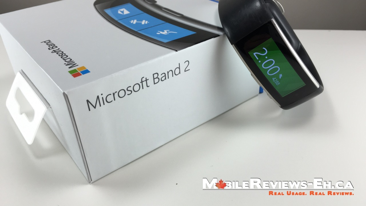 microsoft band 2 review mobile reviews eh