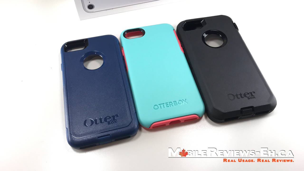 new concept 1f5d6 8e020 Otterbox Defender vs Commuter vs Symmetry vs Pursuit – iPhone 7 and ...