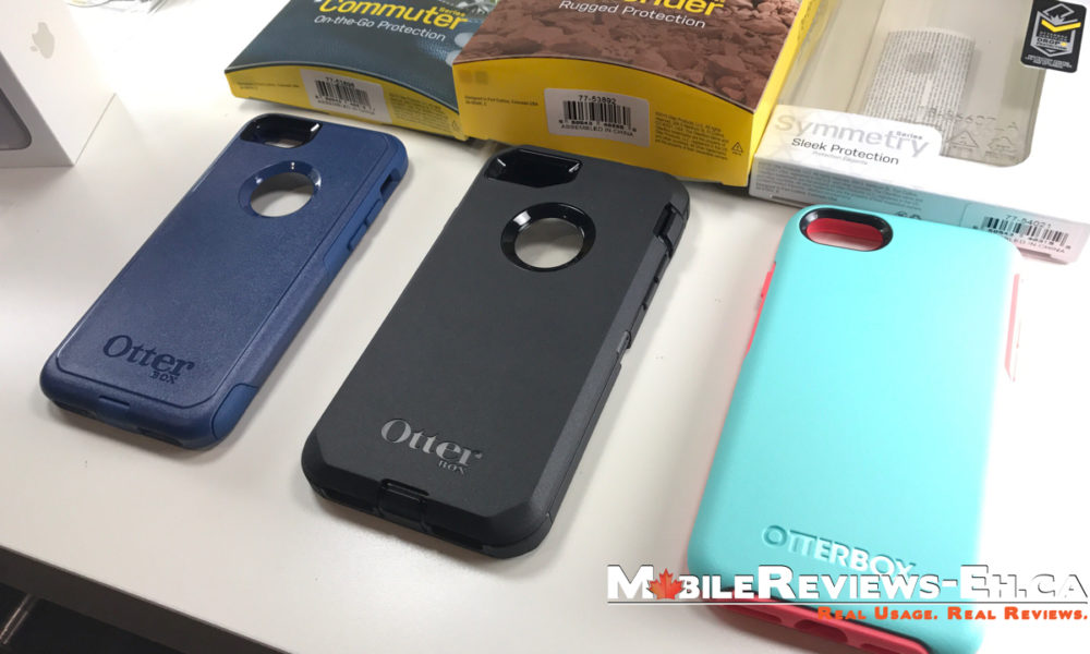 new concept e1810 559d4 Otterbox Defender vs Commuter vs Symmetry vs Pursuit – iPhone 7 and ...