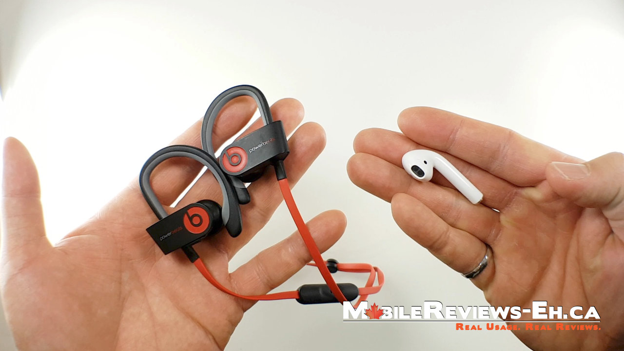 Powerbeats2 Wireless Headphones vs. Apple AirPods