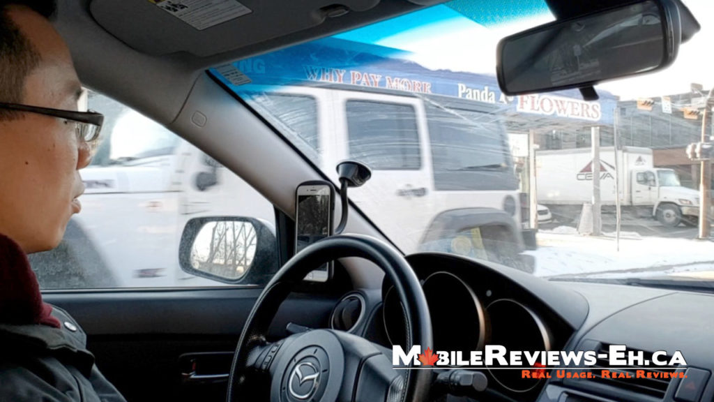 Driver Side Window - Smartphone Car Mount Review 2017