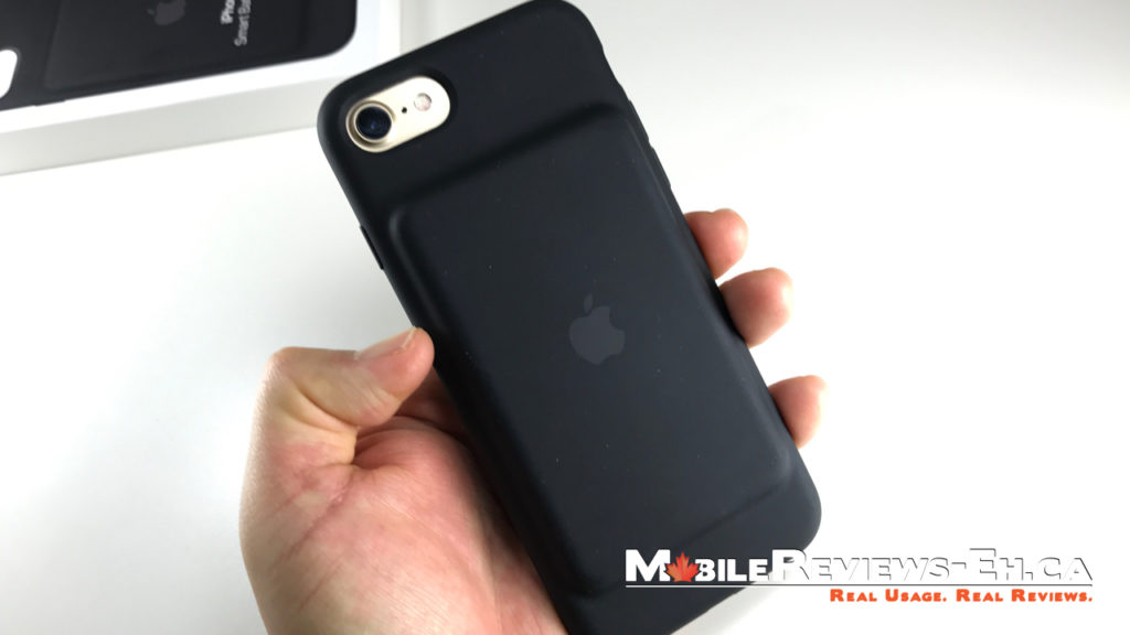 Handling - Apple Smart Battery Case iPhone 7 Review
