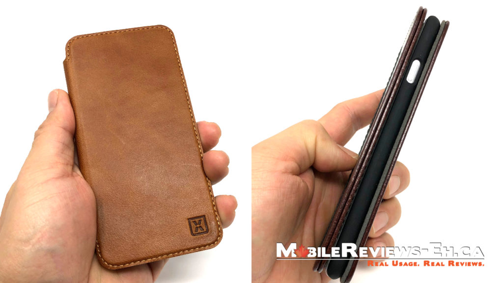Olixar Thin Leather Case - iPhone 8 Wallet Cases