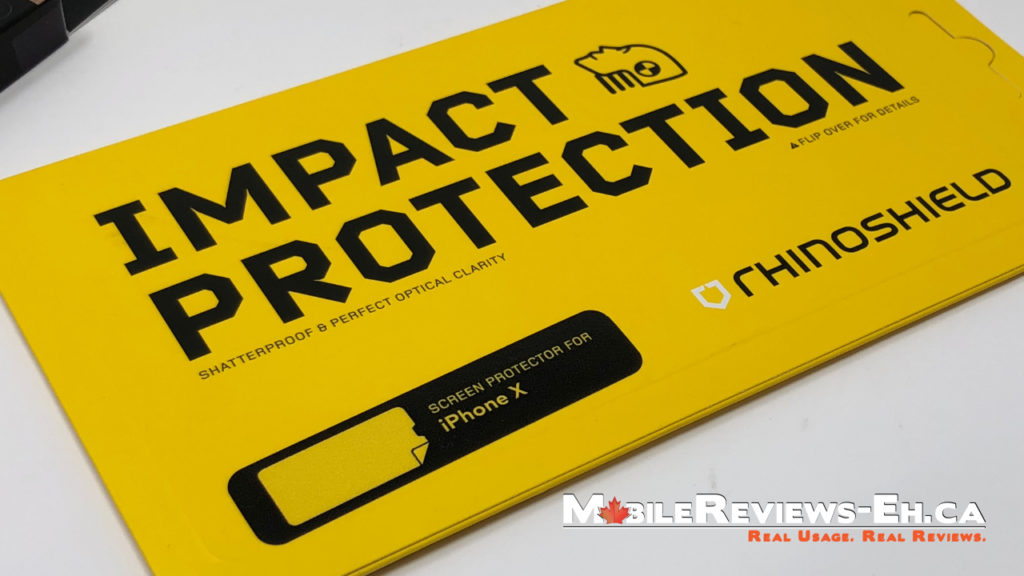Rhinoshield Impact Protection - Best Screen Protectors for the iPhone X