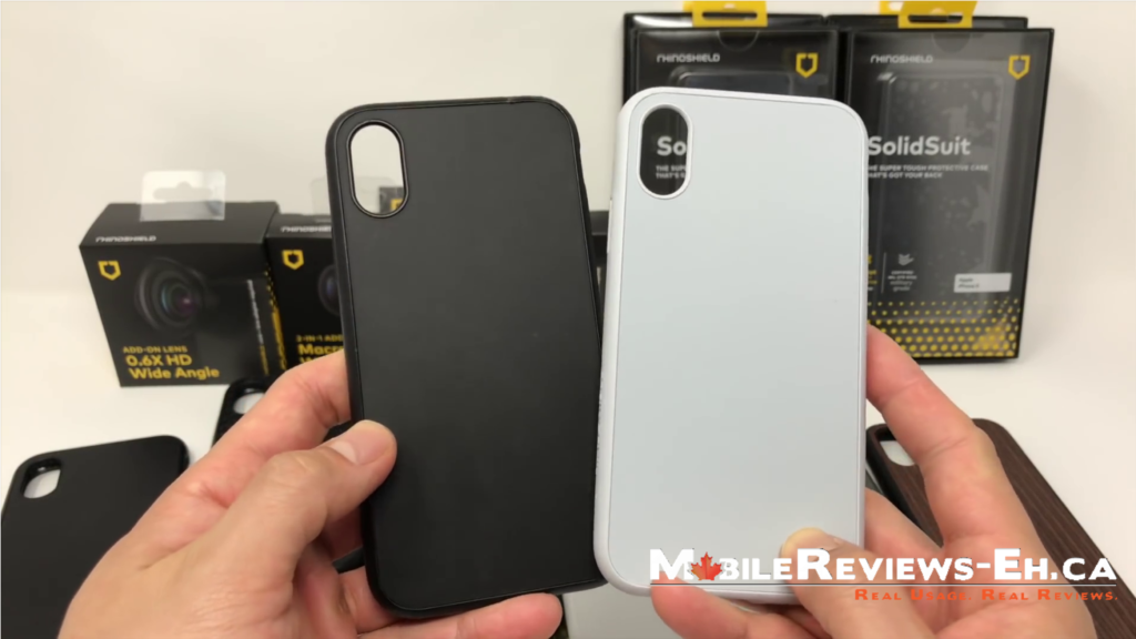 How Tough Are These Cases Evolutive Labs Rhinoshield Solidsuit Iphone X Review Mobile Reviews Eh