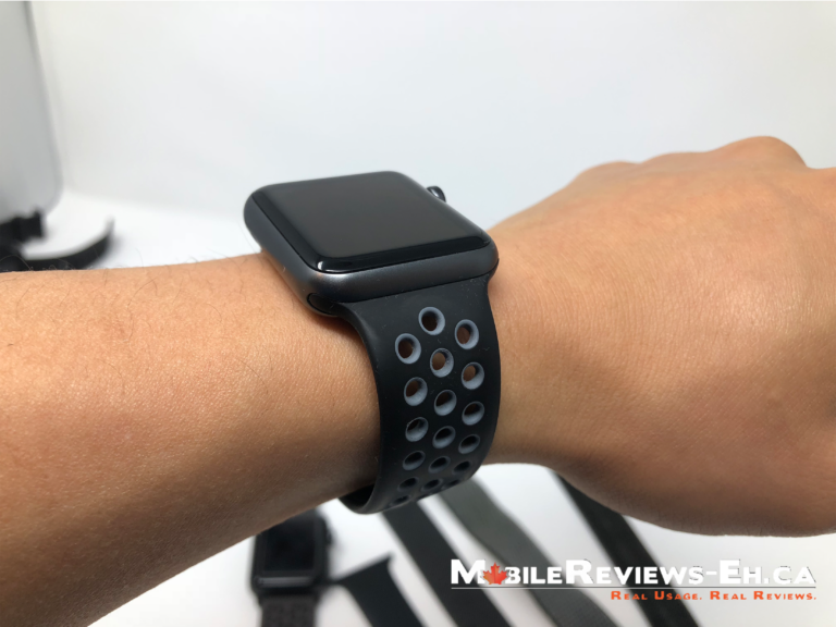 BEST Workout Apple Watch Straps or Bands--Nike Sport Band Fit