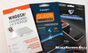 Liquid Glass Screen Protector Reviews - Diamond Defense vs Spigen Glastr vs CrystalTech Nano