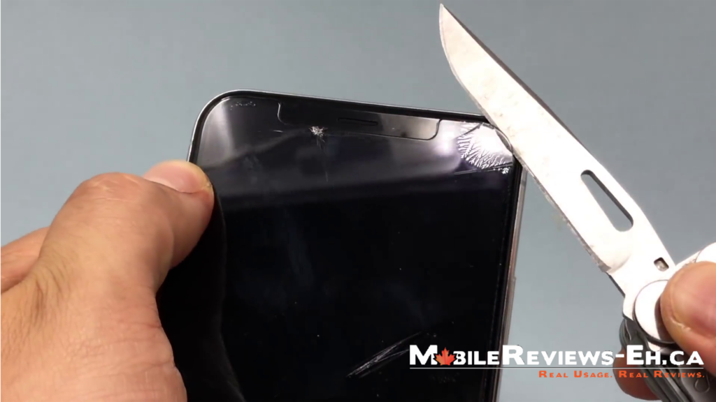 WhiteStone Dome Glass Review-the screen is hard to remove