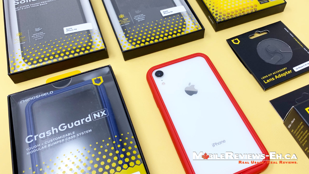 Rhinoshield MOD NX - The Best iPhone Cases for the iPhone XR
