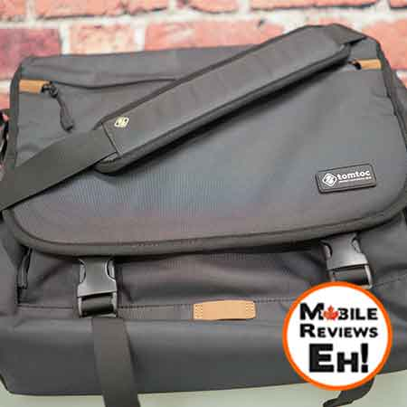 Tomtoc 15.6 Laptop Cross-Body Messenger Laptop Bag